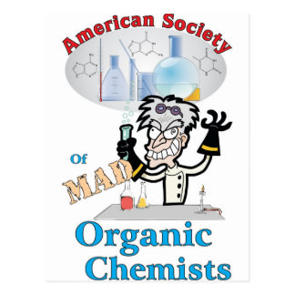 American Society of Mad Organic Chemists Postcard