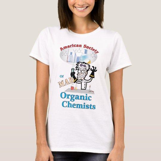 American Society of Mad Organic Chemists T-Shirt