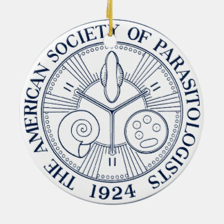 American Society of Parasitologists Ceramic Ornament