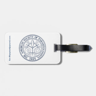 American Society of Parasitologists Luggage Tag