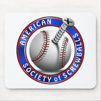 American Society of Screwballs Mouse Pad