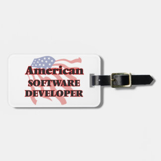 American Software Developer Luggage Tags