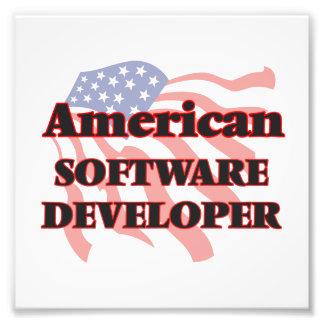 American Software Developer Photo Print