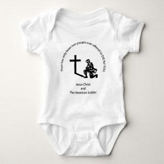 American Soldier Baby Bodysuit