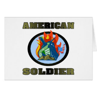 American Soldier Cards