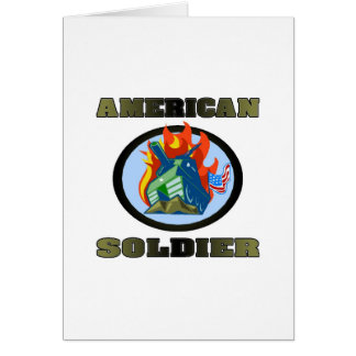 American Soldier Greeting Cards