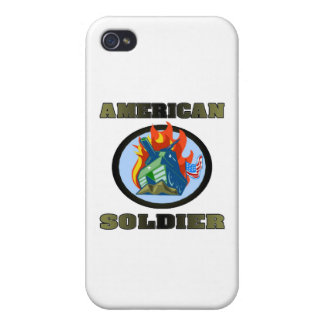 American Soldier iPhone 4/4S Covers