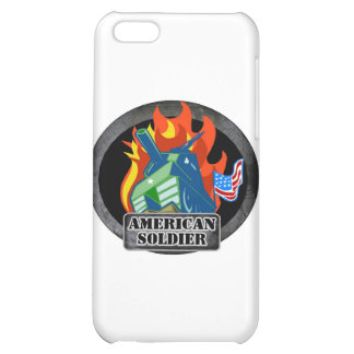 American Soldier iPhone 5C Cases