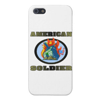 American Soldier iPhone 5 Cases