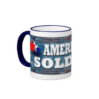 American Soldier Mug