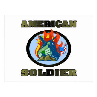 American Soldier Postcards