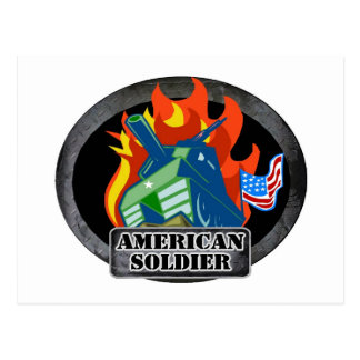 American Soldier Post Cards