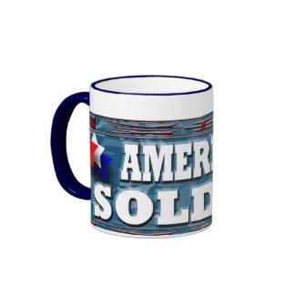 American Soldier Ringer Mug