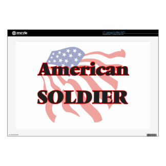 "American Soldier Skin For 17"" Laptop"