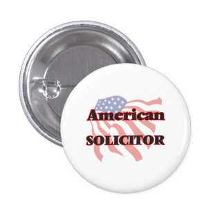 American Solicitor 1 Inch Round Button