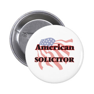 American Solicitor 2 Inch Round Button