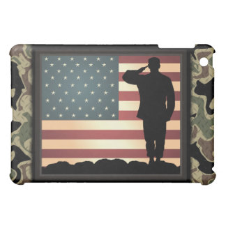 American Solider Fitted Hard Shell Apple iPad Case