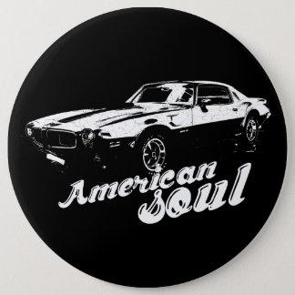 American soul pinback button