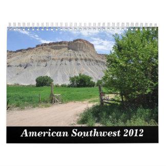American Southwest Calendar 2012