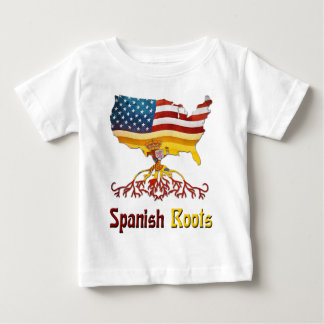 American Spanish Roots Baby T-Shirt