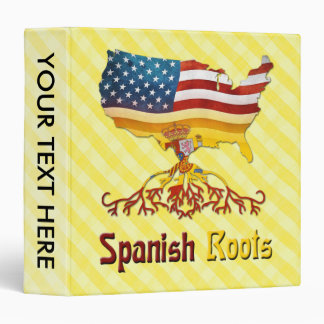American Spanish Roots Binder