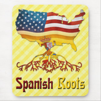 American Spanish Roots Mousemat Mouse Pad