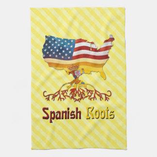 American Spanish Roots Tea Towels