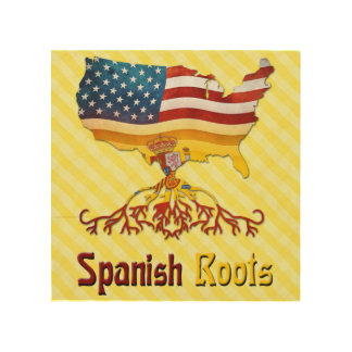 American Spanish Roots Wood Wall Decor