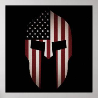 American Spartan Poster