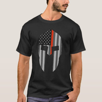 American Spartan Thin Red Line T-Shirt