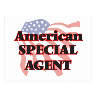 American Special Agent Postcard