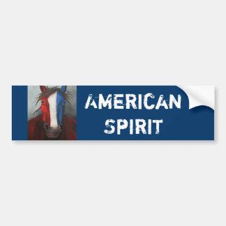 American Spirit Car Bumper Sticker
