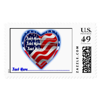 American Spirit Change the Background View Notes Postage