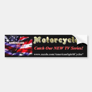 American Spirit Motorcycles Fan Bumper Sticker