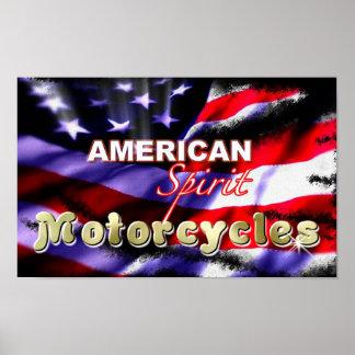 American Spirit Motorcycles Posters