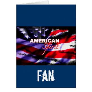 American Spirit Motorcycles TV Show Greeting Card