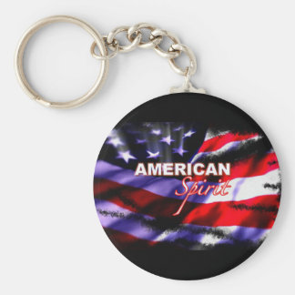 American Spirit Motorcycles TV Show Keychain