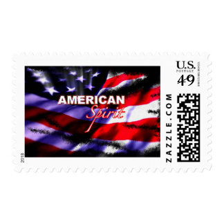 American Spirit Motorcycles TV Show Postage Stamps