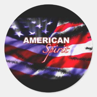 American Spirit Motorcycles TV Show Sticker