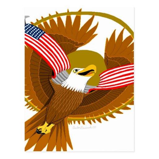 American Spirit Postcard