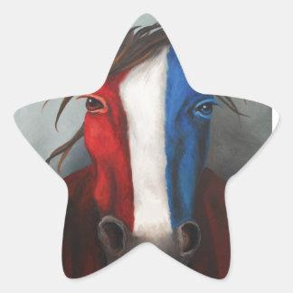 American Spirit Star Sticker