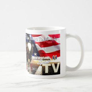 """American Spirit"" TV 2mbtdc Ride   9-11-2013 Mug"