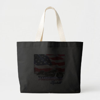 American Spirit TV Motorcycle Show Tote Bag