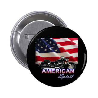 American Spirit TV Motorcycle Show Buttons