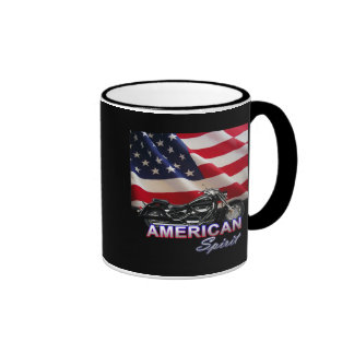 American Spirit TV Motorcycle Show Coffee Mugs