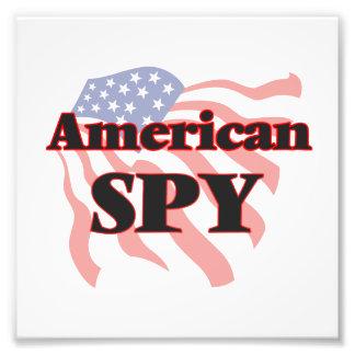 American Spy Photo Print