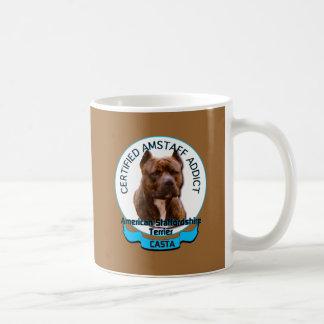 American Staffordshire Addict Coffee Mug