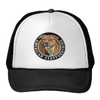 American Staffordshire Dog 002 Trucker Hat