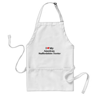 American Staffordshire Terrier Adult Apron