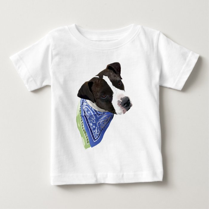 American Staffordshire Terrier-Aggie Baby T-Shirt
